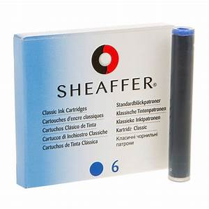 Sheaffer Ink Cartridges - Shelf Pack Turquoise