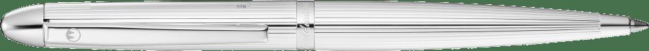 Pocket pinstripe pattern Silver